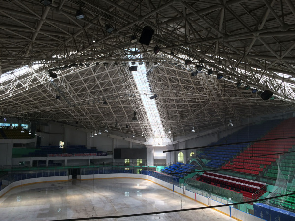 The World Speed Skating Championships Main Venue