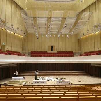 西安音樂學院音樂廳 Music Hall, Xi'an Conservatory of Music3