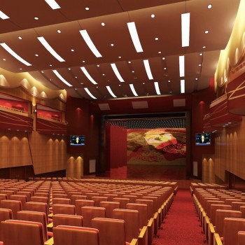 陝西咸陽禮泉大劇院 Liquan Grand Theater, Xianyang City, Shanxi Province2